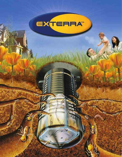 Exterra Termite Interception And Baiting System